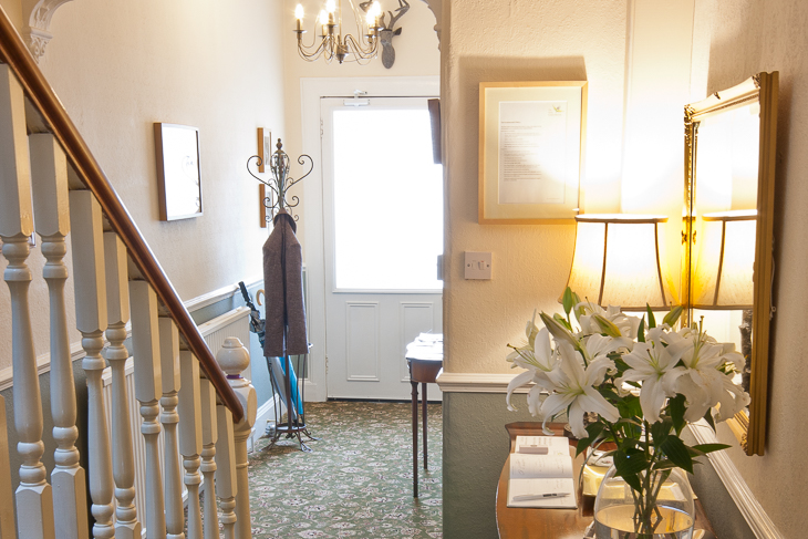 Picture of the entrance hallway of The Ness Guest House bed and breakfast