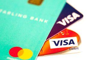 Image of three credit cards