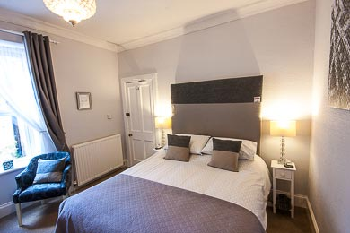 Picture of the Double Room with Kingsize Bed at The Ness Guest House B&B Inverness