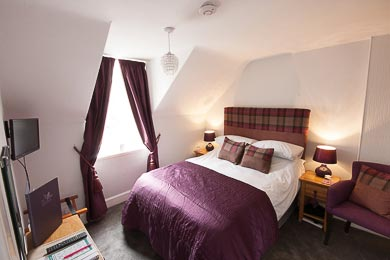 Picture of Double Room 2 with Double Bed at The Ness Guest House bed and breakfast in Inverness